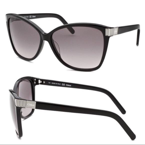 aacce9edc03   Chloe   Cat Eye Tortoise Sunglasses